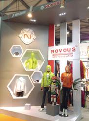 第二十四届中国自行车展览会NOVOUS美国诺威思展位